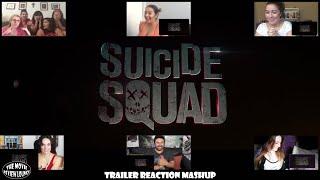 Suicide Squad Comic Con Trailer (Reaction Mashup)
