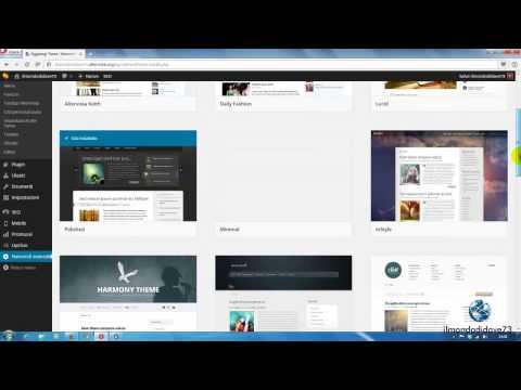 Wordpress Blog Italiano - Iniziare Con Wordpress - Tutorial #01#