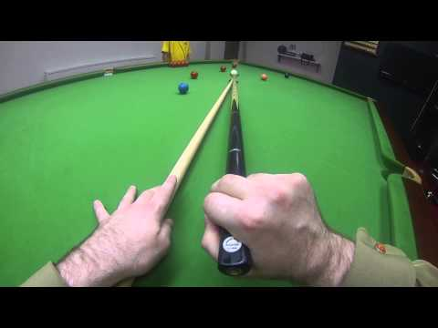 Snooker Coaching Restplay Tips Using A Head Cam.
