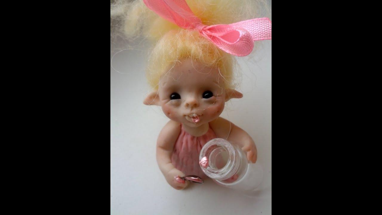 Как сделать куклу-фею из ниток своими руками (пошагово) 33 32
