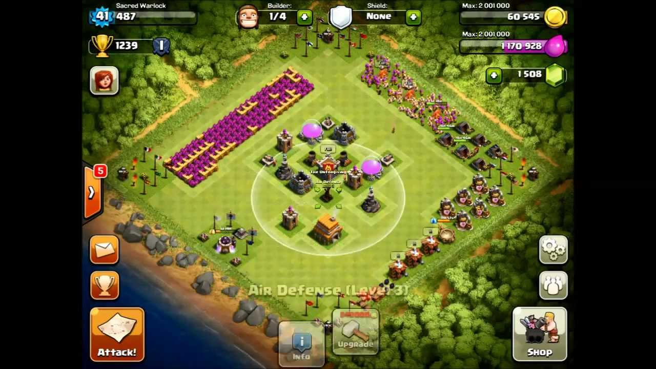 Base farming layout th6 by spikerush base farming layout th6 by - Speed Builds Ep 1 Th6 Farming Base Design Join Us Youtube