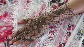 BRIDAL HENNA: lace inspired