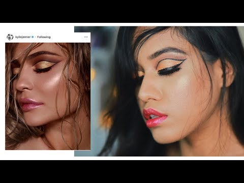 I Tried To Recreate a Kylie Jenner Makeup Look