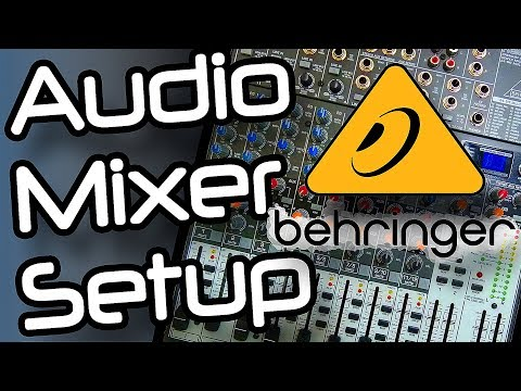 Audio Mixer Setup