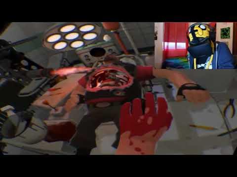 OPERACIONES CASI REALES | Surgeon Simulator + Oculus Rift