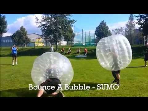 Bubble Soccer und Sumo in Salzburg