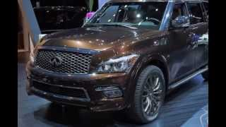 2016 Infiniti QX80 Limited SUV New Exterior Interior Overview