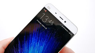 Обзор Xiaomi Mi5: распаковка, дисплей, звук и синтетика