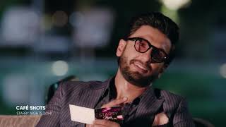Café Shots The Double Trouble With Ranveer Singh Starry Nights 2 Oh
