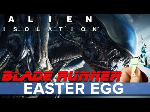 Alien: Isolation - Blade Runner Easter Egg! - Eurogamer