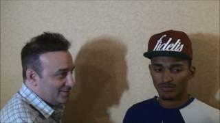 Vitor Jones Freitas talks about his fight with Manuel Mendez