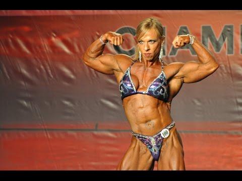 Jennifer Sedia IFBB Pro Female Bodybuilder 2014 PBW Tampa Pro Women's Bodybuilding Second Place