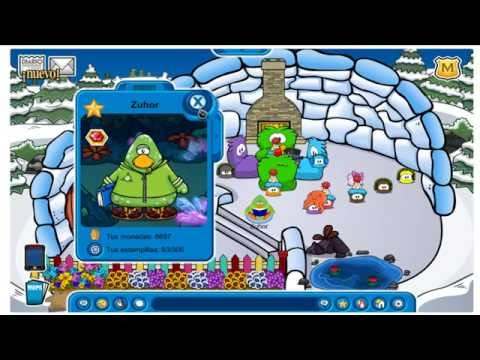 codigo para desbloquear traje extraterrestre en Club penguin !! Free