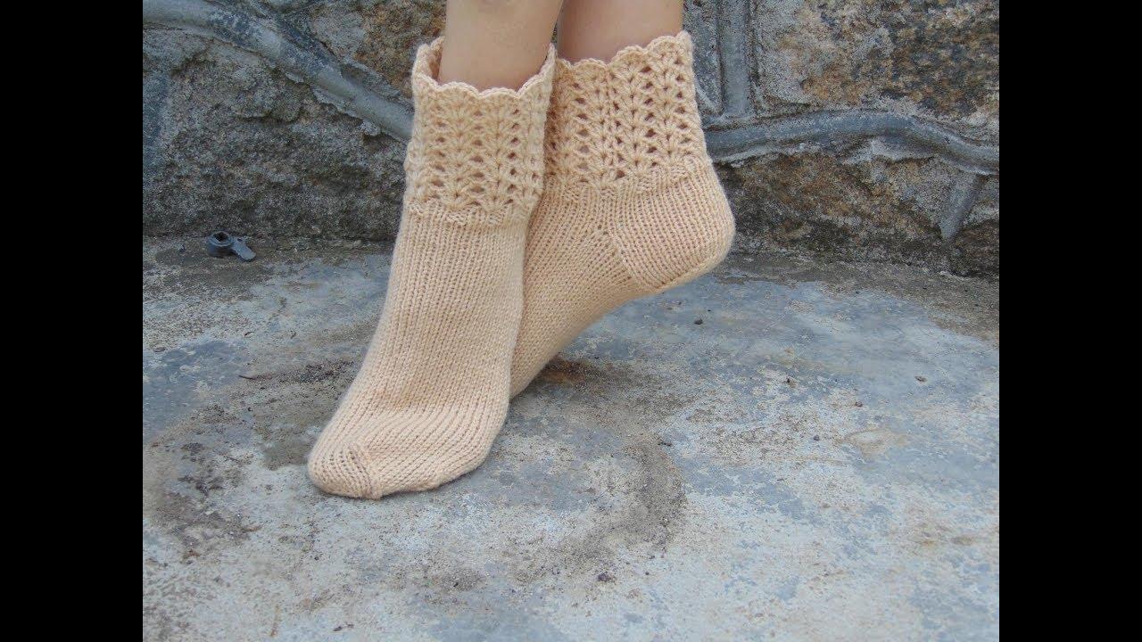 Вязание носков крючком видео-уроки 36