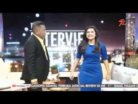Rita Widyasari at The Interview with Tukul arwana