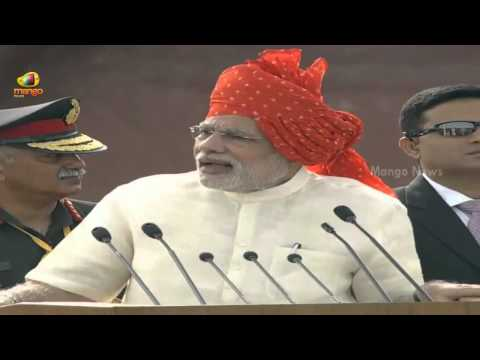 PM Narendra Modi Independence Day Speech at Red Fort - Part 3 -  68th Independence Day