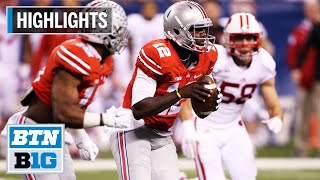 Highlights: Flashback - Cardale, Buckeyes Rout Badgers for CFP Berth | 2014 B1G Football Championshi