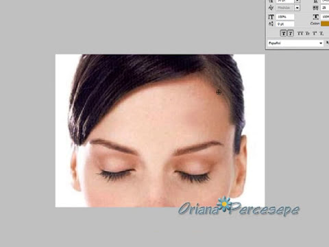 Herramienta Pincel Corrector (para corregir el acné en una fotografía)