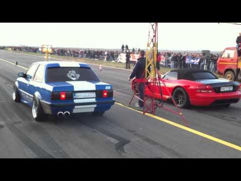 Bmw E30 turbo vs viper