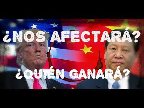 ¿Nos Afectará la Guerra Comercial entre China y Estados Unidos?