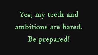 Whoopi Goldberg - Be Prepared