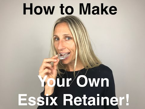 Orthodontic Retainer - Essix Start to Finish