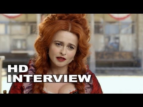 "The Lone Ranger: Helena Bonham Carter ""Red Harrington"" On Set Interview"