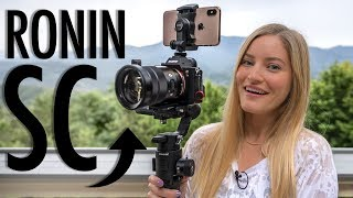 NEW DJI Ronin SC Review and Unboxing!