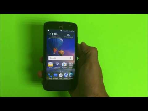How to install SD and SIM card into ZTE Majesty Pro