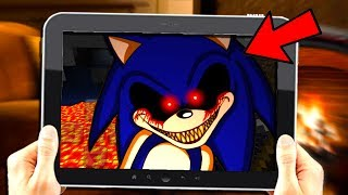 DO NOT PLAY SONIC.EXE MINECRAFT POCKET EDTION AT 3AM! (SECRET RECORDING)