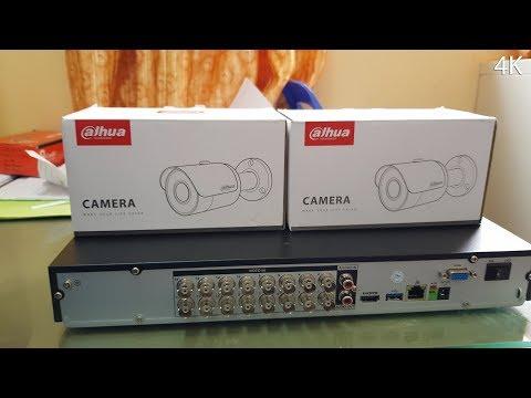 Dahua TECHNOLOGY DVR DHI-XVR5216AN and CCTV DH-HAC-HFW1200SP4K