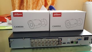 Dahua TECHNOLOGY DVR DHI-XVR5216AN VS CCTV DH-HAC-HFW1200SP_4K