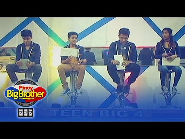 PBB 737 Update: Teen Big 4's 'Ang Pinaka'