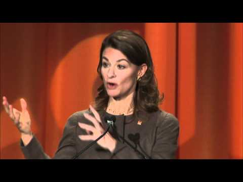 Melinda Gates at 2011 CARE Conference
