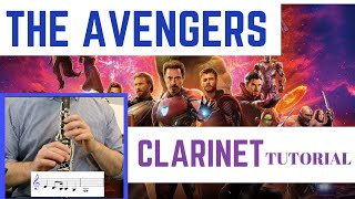 THE AVENGERS THEME | Clarinet Tutorial