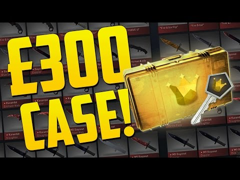 THE MOST EXPENSIVE CS GO CASE - CS GO Funny Case Opening