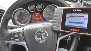 iCarsoft CR PLUS Reset Engine, ABS & Airbag Warning Lights