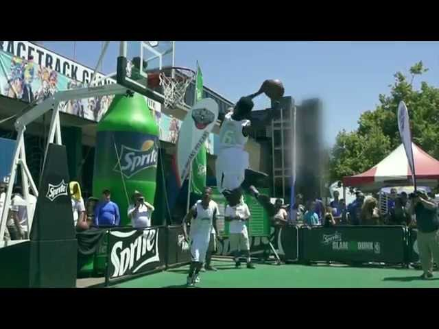Sprite Slam Dunk Showdown 2014: Sacramento