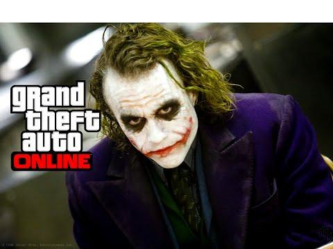 Como jogar com o CORINGA no GTA V ONLINE! Muito foda!