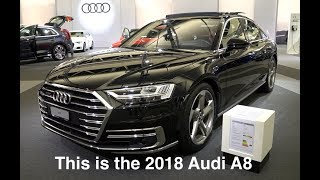 This is the new 2018 Audi A8