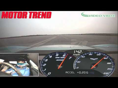 ZR1 Vette Vs Jet! - Chevrolet Corvette ZR1 Races A U.S. Navy Fighter ...