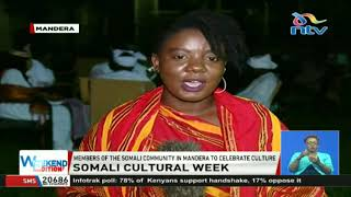 Members of the Somali community in Mandera to celebrate their culture