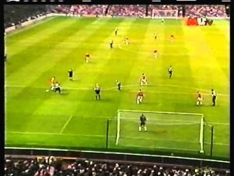 1998 (August 18) Manchester United (England) 8-Europe XI 4 (Munich Air Disaster Testimoniam)