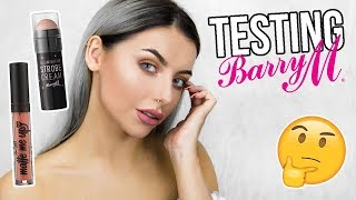 TESTING BARRY M MAKEUP - FULL FACE FIRST IMPRESSIONS #TESTINGWEEK