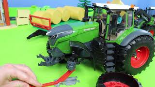 Fire Truck, Excavator, Dump Trucks, Tractor, Police Cars & Mixer Construction Toy Vehicles for Kids