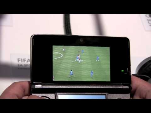 Fifa Soccer 12 3DS Gameplay Footage (E3 2011)