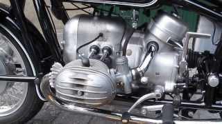 BMW R50 mit/with R50/2 Motor/engine laufend/running