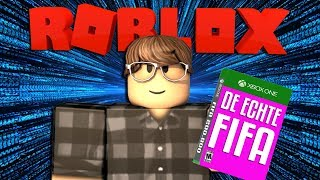 DIT IS DE ECHTE FIFA !! | Roblox Game Dev Life #1