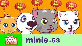 Talking Tom and Friends Minis - Lunar New Year Celebrations (Episode 53)