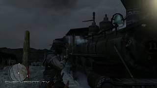 Red Dead Redemption - Train Robbery Fail And Disappearing Train Mechanic - Xbox One X